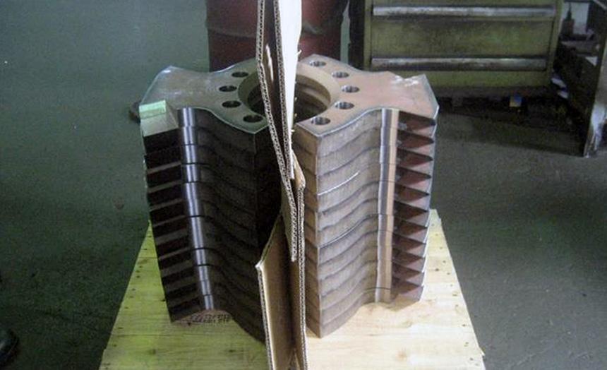 HARDOX550 破砕刃
