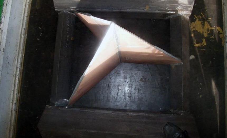 HARDOX600 フォーク爪