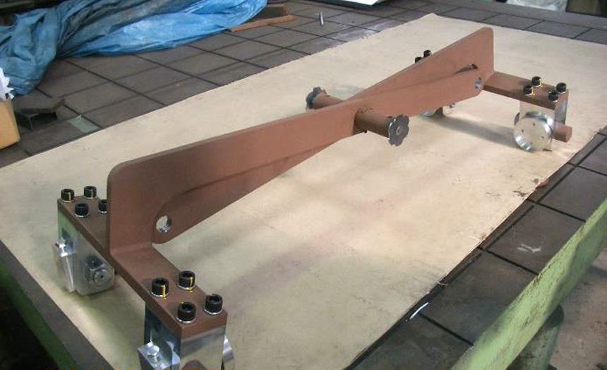 HARDOX450 吊り具トング