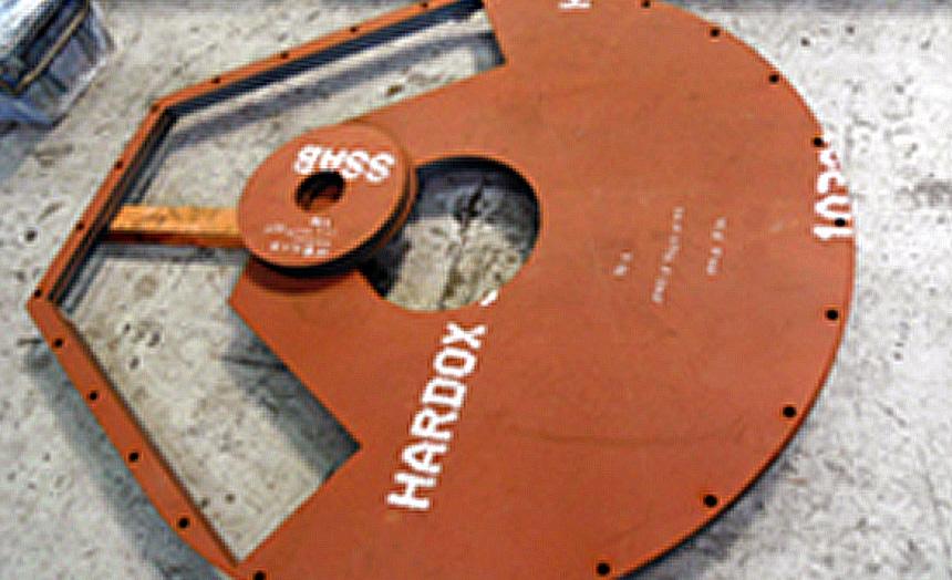 HARDOX500 ベースプレート