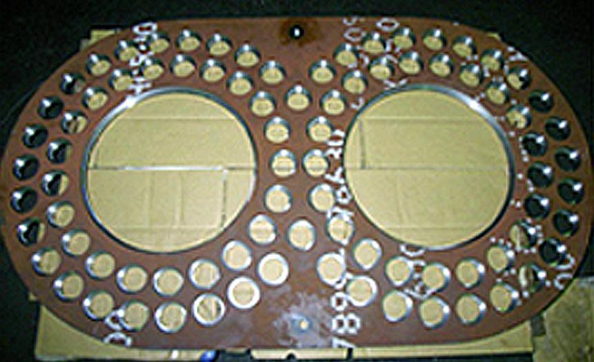 HARDOX600 耐圧フランジ