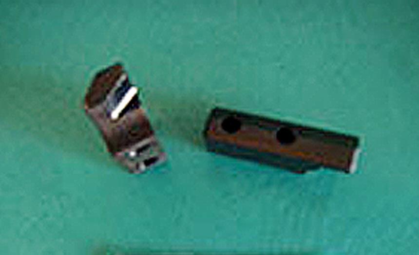 HARDOX400ワーククランプ爪