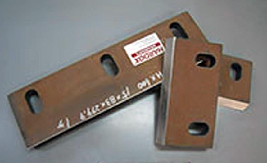 HARDOX600 破砕機 刃物