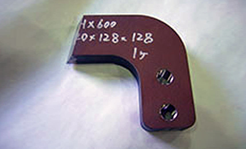X600 センタープレート レーザ・機械・ネジ加工
