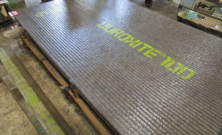 新商品 耐摩耗肉盛鋼板 Duroxite100が入荷